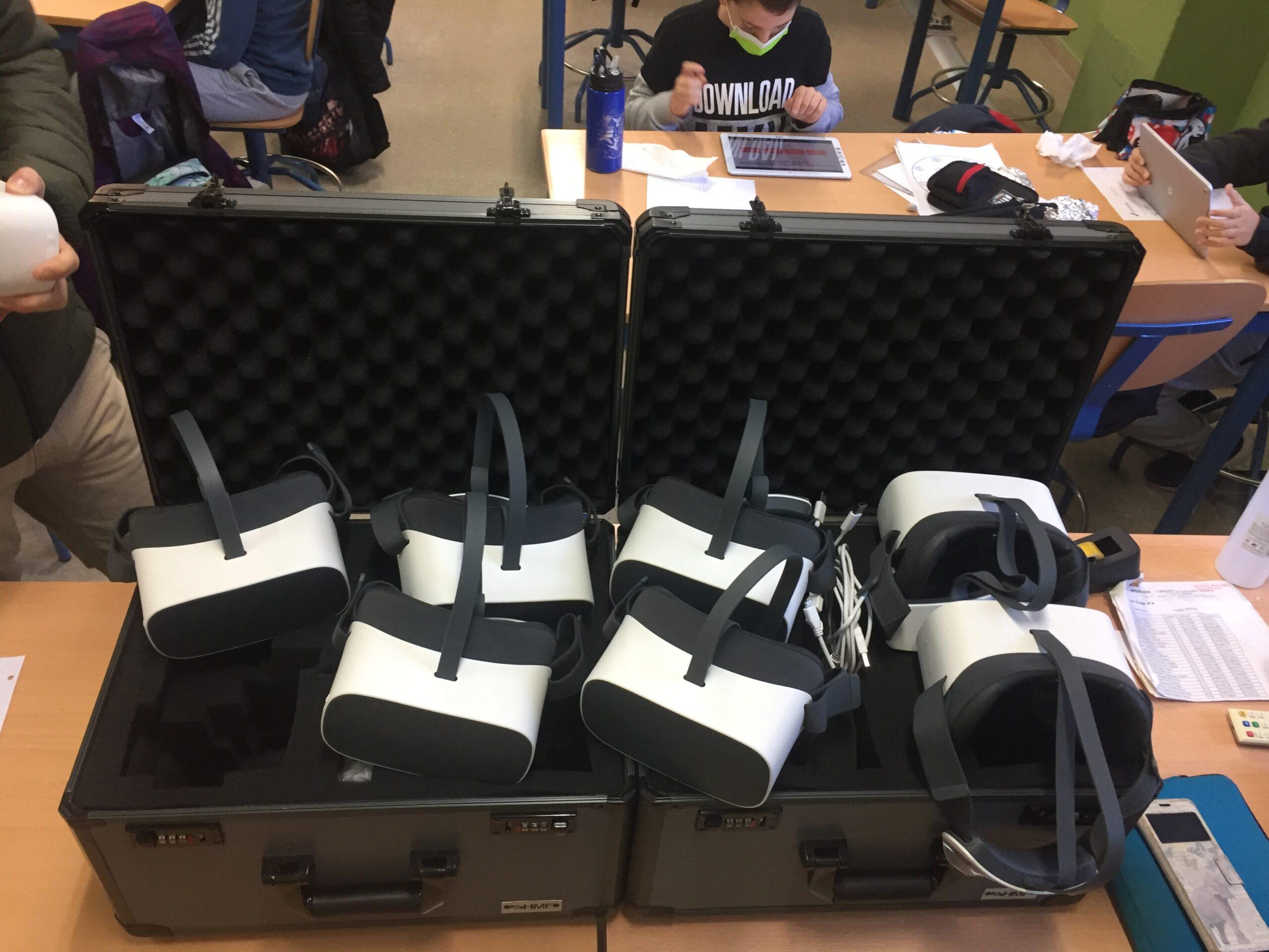 realidad virtual aula